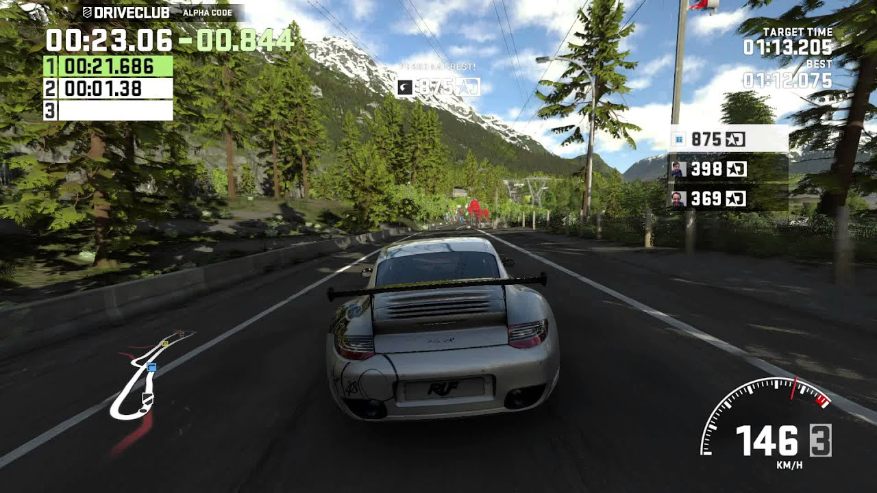 Driveclub Gamescom Demo Ruf Rt12 R Ps4 Gameplay Hq