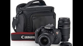 CANON T5 REBEL EOS DSLR CAMERA PICTURE / VIDEO QUALITY