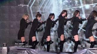 Repeat youtube video 소녀시대(SNSD)-Run Devil Run.Hoot.아송페.111105