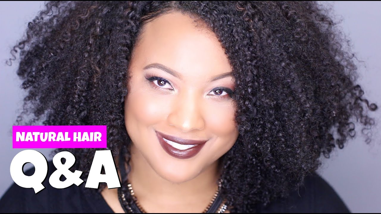 Getting Rid Of Frizzy Natural Hair