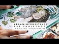 DRAW IN YOUR STYLE INSTAGRAM CHALLENGE | + Featuring 5 of my favourite instagramers
