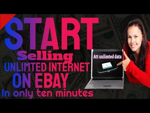 how you start your own internet business isp company on ebay in 10 minutes!