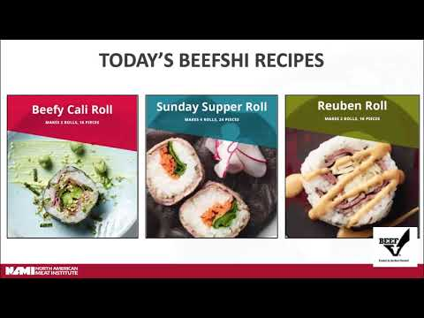 The Shopping For Health 2020 Virtual Conference: North American Meat Institute/Beef Checkoff Program