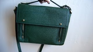 NEW IN // REVIEW: 3.1 Phillip Lim Pashli Messenger in Jade | chelsea wears