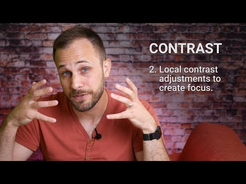 Color, Contrast, Cleanup: Photo editing strategy