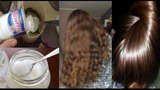 افضل واحسن وصفة لترطيب وتمليس الشعر الجاف والخشن من اول استعمال وبمكون طبيعي متوفر في كل منزل