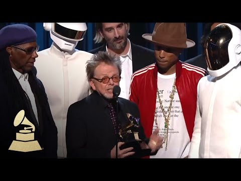 Daft Punk Win Album Of The Year | GRAMMYs