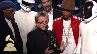 Repeat youtube video Daft Punk Win Album Of The Year | GRAMMYs