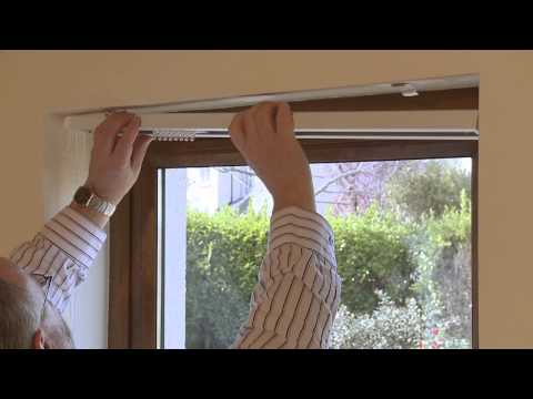 How to measure and fit a vertical window blinds