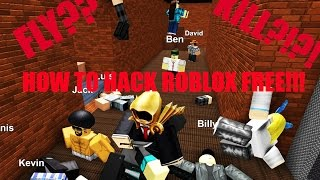 HOW TO HACK ANY ROBLOX GAME!!!
