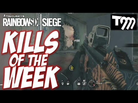 RAINBOW SIX SIEGE - Top 10 Kills of the Week #40