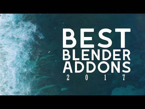 My Favorite Blender Add-ons & Resources of 2017