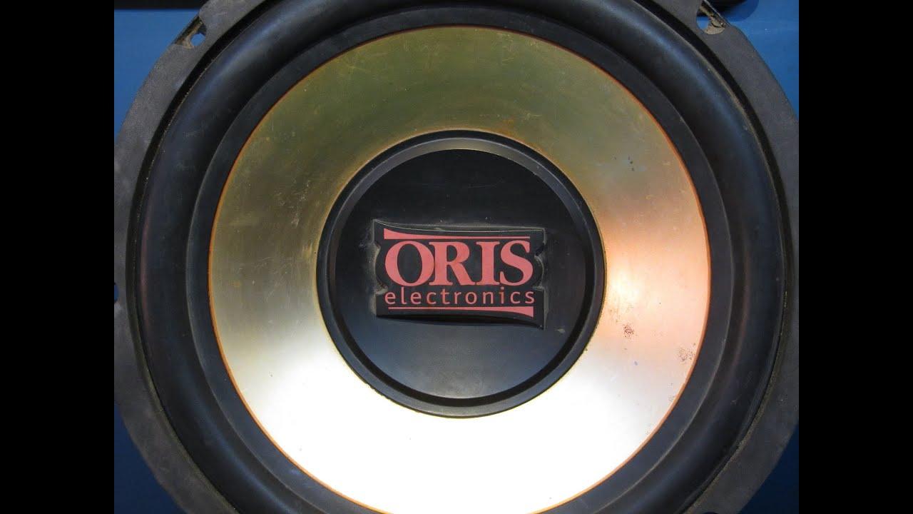 Ремонт автомобильного сабвуфера ORIS. Обрыв в катушке.