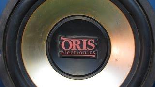 Ремонт автомобильного сабвуфера ORIS. Обрыв в катушке.(, 2015-03-09T08:02:36.000Z)