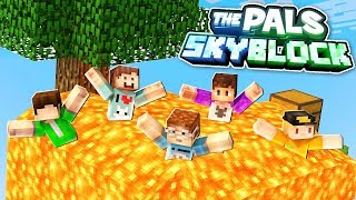 FAILED LAVA DISASTER! (The Pals SkyBlock Survival) #2