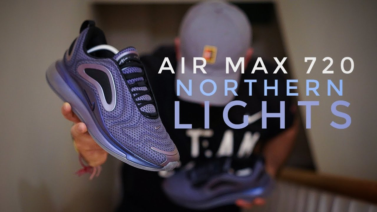 2b28966a4cdb NIKE AIR MAX 720 - On Foot   Review - YouTube