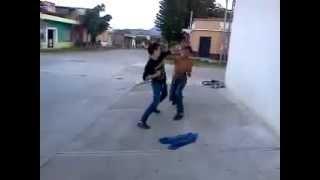 la pelea cachorro  vs Pelitos DE Oro (Monjas Jalapa)