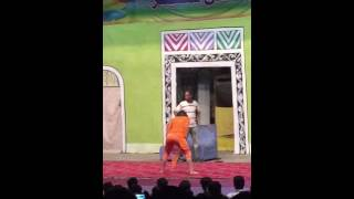 zareen and Babar stage dance in Gujranwala