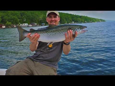 Landlocked Atlantic Salmon Fishing (PB) Seneca Lake NY