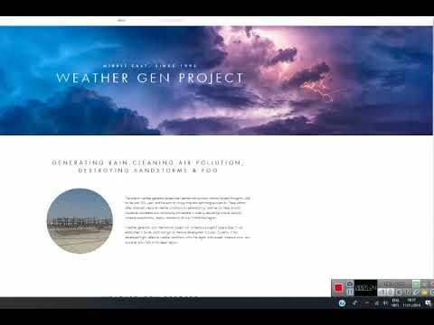 UAE's heavy rain 11/11/18