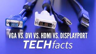 VGA vs. DVI vs. HDMI vs. Displayport: Welches Interface sollte ich wann nutzen? – GIGA.DE