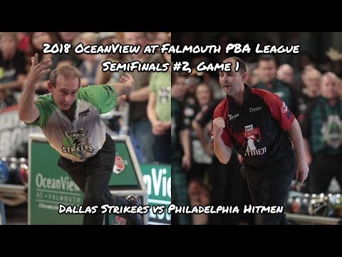 2018 PBA League Semifinals #2, Game 1 – Dallas Strikers vs Philadelphia Hitmen
