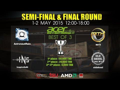 4 ทีมสุดท้ายแข่ง LAN งาน Acer e-Sport Challenge#1 - Day 1