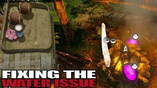 FIXING THE WATER ISSUE | Green Hell | Let's Play Gameplay | S01E11