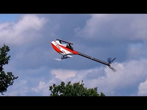 HD-750 RC MODEL HELICOPTER 3D FLIGHT DEMO / Seehausen Germany August 2016