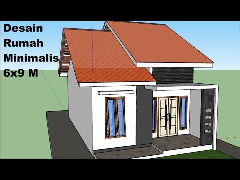 rumah 6x9 2 kamar tidur