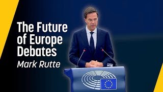 Rutte: Unity is the future of Europe // Future of Europe Speech, June 2018