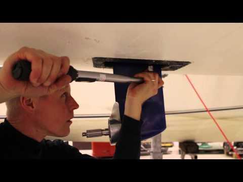Oceanvolt SD8.6 Electric Motor System Installation, Delphia 33