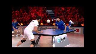 Finale: Giovanni Zarrella & Olaf der Wikinger vs. Tom Beck & Nomit - Headis Team-WM