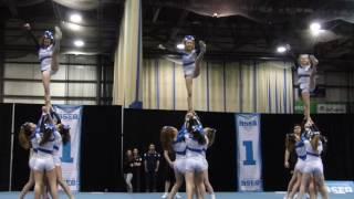 Équipe de cheerleading niveau 4 Lions Chavigny