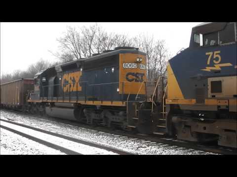 Railfanning Terre Haute, Indiana, 02.03.13: CSX & More