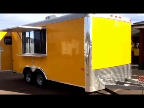 2016 Cargo Craft 8.5x16 Concession Trailer for sale at Colorado Trailers Inc. 303-688-8485