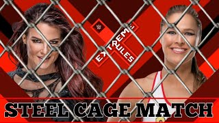 EXTREME RULES: RONDA ROUSEY BATTLES IT OUT WITH LITA IN A STEEL CAGE MATCH!