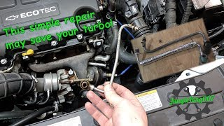 Save Your Turbo! Replace this part! 1st Gen Chevy Cruze Repair!