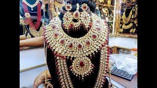 গরজিয়াস সব ইন্ডিয়ান জয়পুরী Bridal Set কালেকশন কিনুন, চাঁদনী চক মার্কেটে।। Joypuri Bridal Set Price.