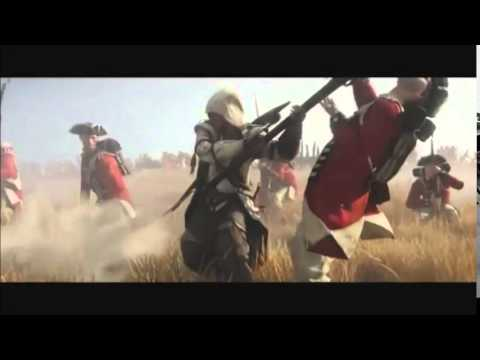 Assassin's Creed III Trailer (CAN'T HOLD US)