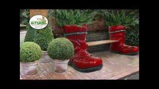 видео Уличный вазон для цветов