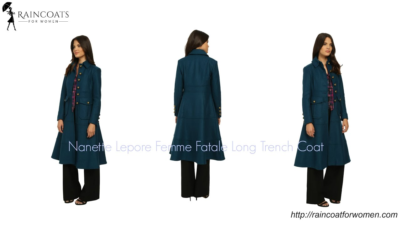 Coat Femme Fatale Youtube Trench Long qpqAwPa