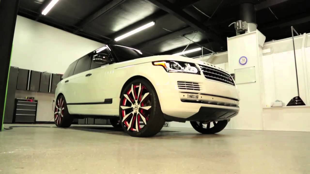 Range Rover Super Charged Autobiography Lwb