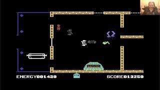 Lukozer Retro Game Review 358 - The Evil Dead - Commodore 64