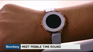 Pebble Targets Females With New Round, Thin Smartwatch