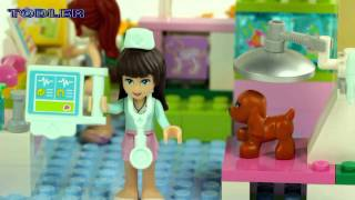 Lego 3188 Lego Friends Heartlake Vet REVIEW