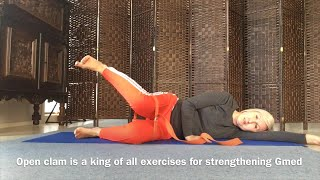Create strong gluteus | Gmax and Gmed stabilisation exercises 1