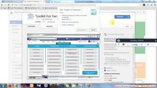 Tutorial - Toolkit for Facebook   Chrome