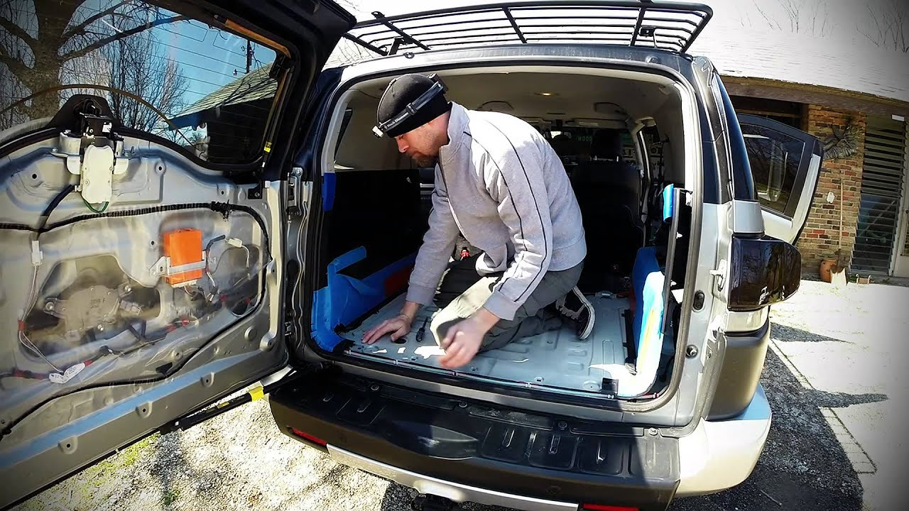 Stripping The Panels Out Of The Fj Cruiser Youtube
