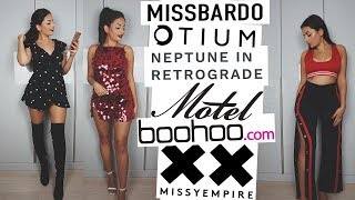 BOOHOO, MISSY EMPIRE, MOTEL ROCKS & MORE! · HAUL || Emily Diane Philpott